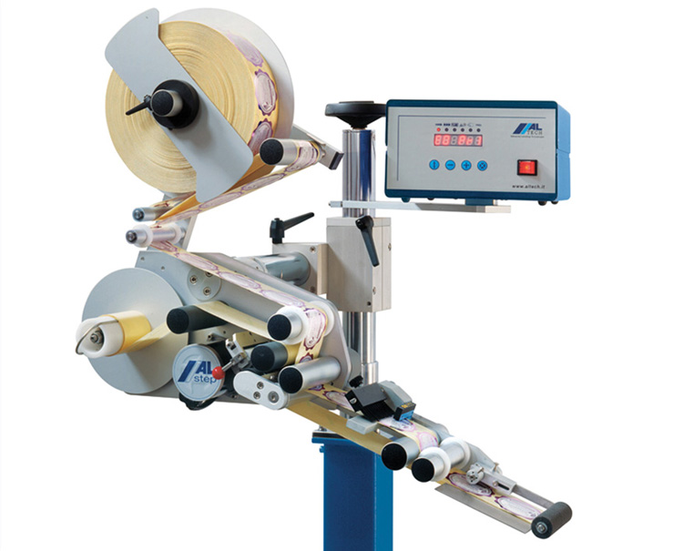 ALTech's alstep pressure sensitive label applicator system