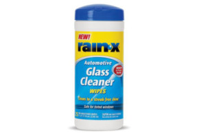 Rain-X Automotive Glass Cleaner Wipes Label