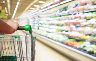Grocery store labels and trends
